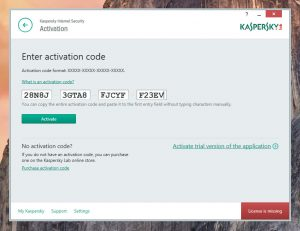 Kaspersky lifetime activation key | Kaspersky total security
