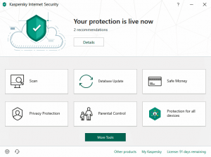 Kaspersky Internet Security 2019 Crack & Serial Key Free Download