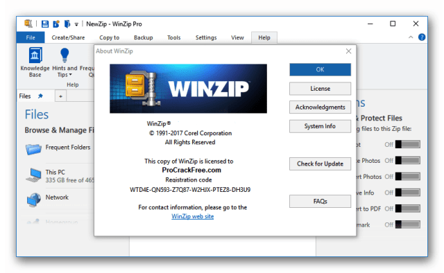 winzip activation key free download