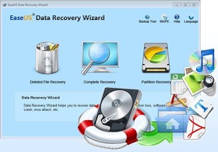 EaseUS Data Recovery Wizard 12.9 Crack + Serial Key Full 2019