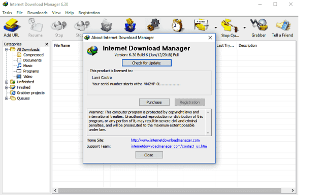 IDM Crack 6.32 Build 1 Patch + Serial Key Final Retail 2019 {Updated}