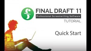 Final Draft 11 Crack With [Mac+Win] Free Download 2019